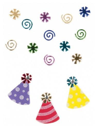 Jolee's Boutique Scrapbooking Embellishment, Confetti and Party Hats (Scrapbooking Confetti)