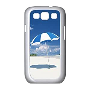 Diy Summer beach Phone Case for samsung galaxy s3 White Shell Phone JFLIFE(TM) [Pattern-1] hjbrhga1544