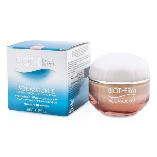 Price comparison product image Biotherm Aquasource 48h Continuous Release Hydration Rich Cream (Dry Skin) 50ml by SKIN CAPITAL SHOPS