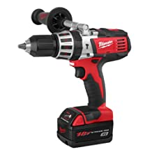 Factory-Reconditioned Bare-Tool Milwaukee 2611-80 18-Volt Cordless M18 High Performance Hammer Drill (Tool Only, No Battery)