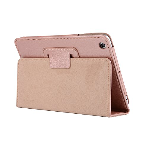 Price comparison product image iPad Shell 2018 iPad New Case,  PU Leather Simple Comfortable Style Shockproof Waterproof Tablet PC Case With Stand Function Cover for iPad Air / Air 2 / 2017 / 2018 New iPad - Rose Gold