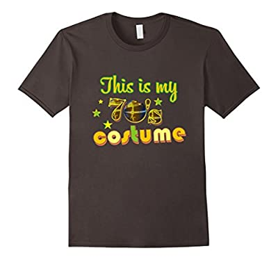 This Is My 70's Costume - Funny Halloween Costume T-Shirt