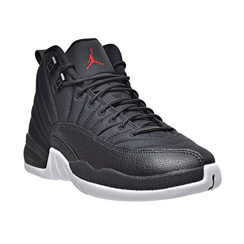 white Air Boys' 12 Bg Black Jordan Black Shoes Gym Nike Red Basketball Retro pa4qqW