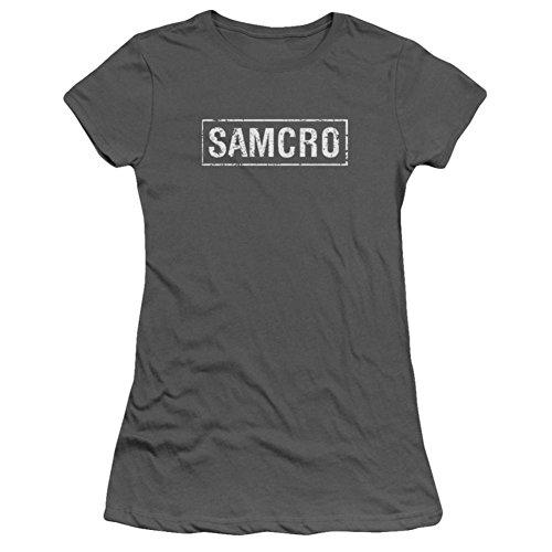 Juniors: Sons Of Anarchy - Samcro Juniors (Slim) T-Shirt Size M (Sons Shirt Of Juniors Anarchy)
