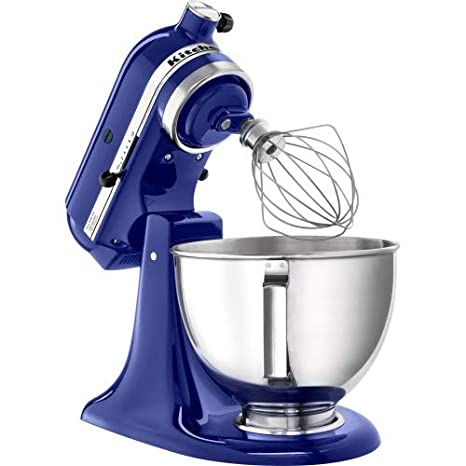 Amazon.com: Kitchen Aid 4.5 Quart Mixer - Blue: Electric ...
