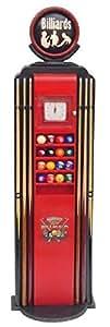 Surtidor como billiard estante para tacos y bolas lebensgroß 185cm para interior de polirresina