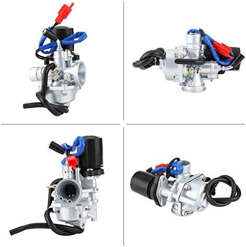 Motorrad Vergaser Vergaser mit Luftkraftstofffilter f/ür SACHS SX1 PIA-GGIO SFERA 50 2-Takt Motorrad Roller