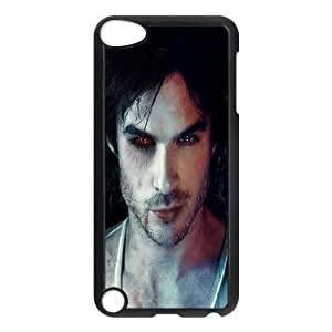 Case for Ipod Touch 5, the Vampire Diaries Damon Salvatore Case for Ipod Touch 5, Stevebrown5v Black