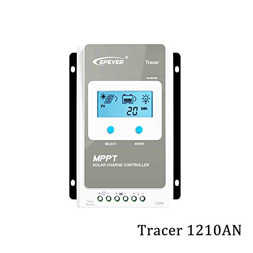 EPever Tracer 1206AN 1210AN 2206AN 2210AN 3210AN 4210AN 10A 20A 30A 40A MPPT Solar Charge Controller 1210A 2210A 3210A 4210A LCD (Tracer1210AN)