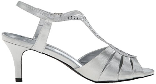 Annie Shoes Womens Luxury Sandal Silver uIjZxzw7A