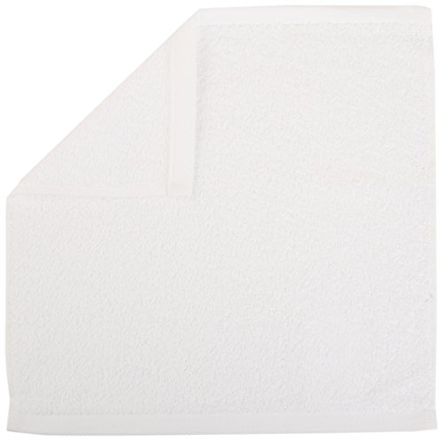 Large Product Image of AmazonBasics Cotton Washcloths, 24 - Pack, White