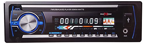 SoundXtreme ST-915 in-Dash Digital Media Receiver with Bluetooth and FM/USB/AUX/SD