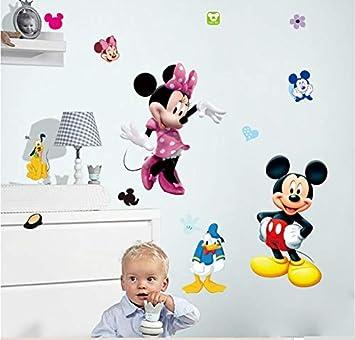 Dekoration Fur Ein Kinderzimmer Mickey Maus Minnie Maus Pluto Hund