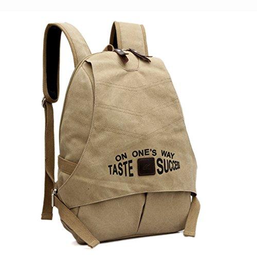 bolsa de lona Sra./bolso de hombro de gran capacidad/mochilas/La bolsa de ordenador/mochila de la universidad del viento/Bolsas de viaje-B B