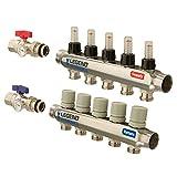 Legend Hydronics 8200P-10-02 2 Loop Pre-Assembled Brass