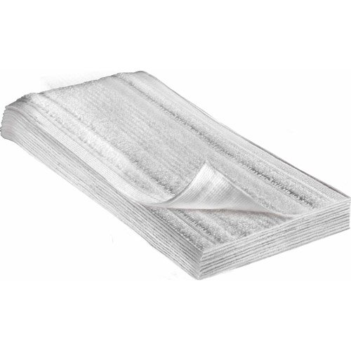 Durable and lasts longer SaniFiber Disposable Pad Refills 12-Pk Steam energized