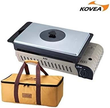 Kovea 3 Way All in One Multi Gas Stove KG-0904P with Authentic Carry Bag Camping Gas Stove Outdoor BBQ Camping Tools