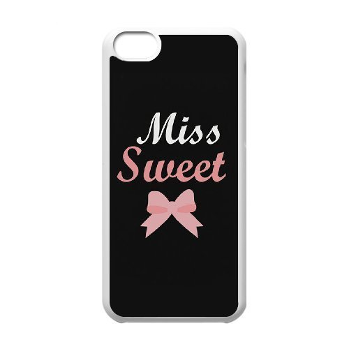 C-Y-F- Bad & Good Girl Miss Bow Sunglass Sweet Wild Best Friend Phone Case For Iphone 5C - Sunglasses Amy Childs