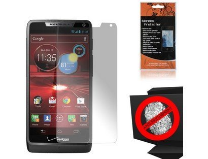 Anti-Glare Screen Protector for Motorola Droid RAZR M 4G LTE XT907
