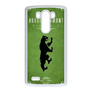 Generic Game Of Thrones TPU Cell Phone Cover Case for LG G3 AS1W9948218