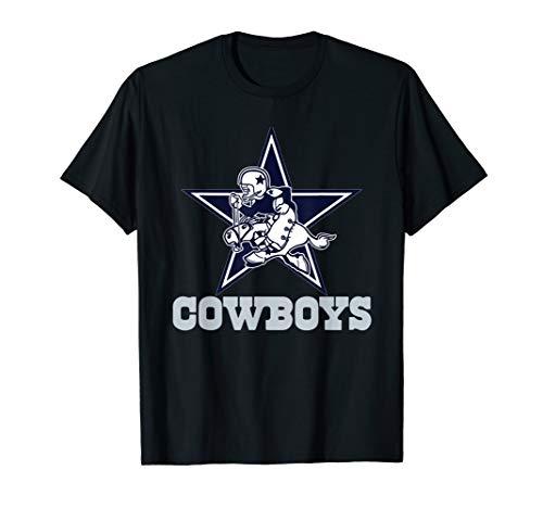 Funny Star - Cowboy run horse Christmas TShirt -