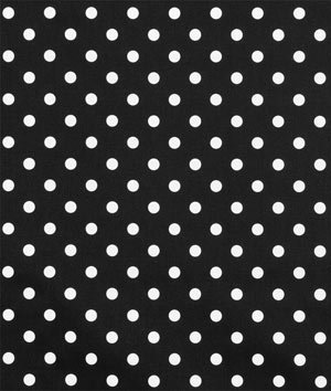 (Premier Prints Polka Dot Black/White Fabric By The Yard)