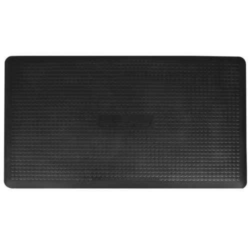 WellnessMats Anti Fatigue Maxum Kitchen Black