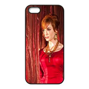 Celebrities Beautiful Christina Hendrix iPhone 5 5s Cell Phone Case Black Protect your phone BVS_822569