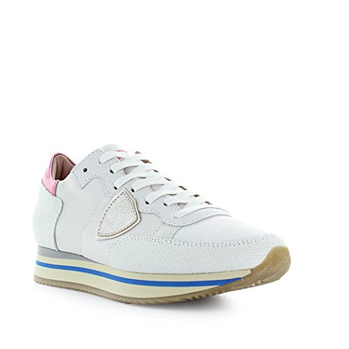 Philippe Sneaker Glitter Tropez Summer Model 2018 Shoes White Women's Higher Spring rRrq1x