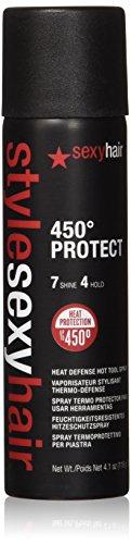 Sexy Hair Style Protect Heat Defense Hot Tool Spray, 4.1 Ounce ()