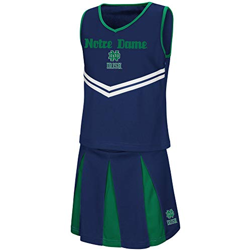 - Colosseum Youth NCAA-Girls Cheer Set-Notre Dame Fighting Irish-Youth Small