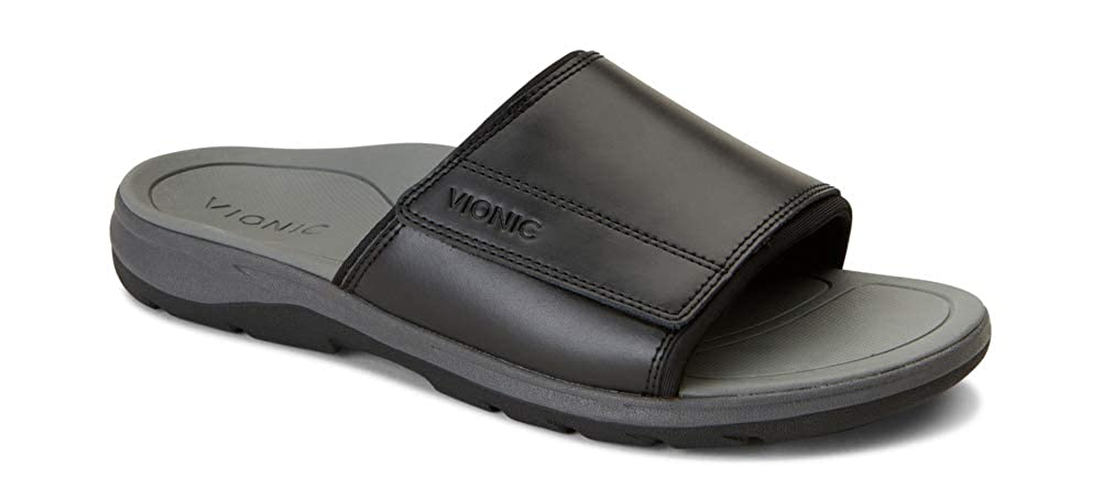 a566a00b3364 Amazon.com  Vionic Men s Canoe Stanley Slide Sandal - with Concealed  Orthotic Arch Support  Shoes