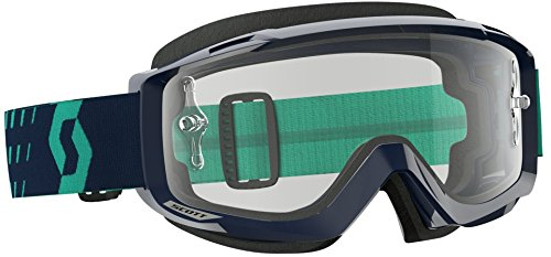 Scott Split OTG Adult Off-Road Motorcycle Goggles - Blue/Teal/Clear/One ()