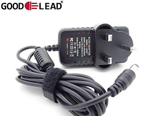 GOOD LEAD 9V AC DC Adapter Power Supply Charger For Reebok ZR9 Crosstrainer...