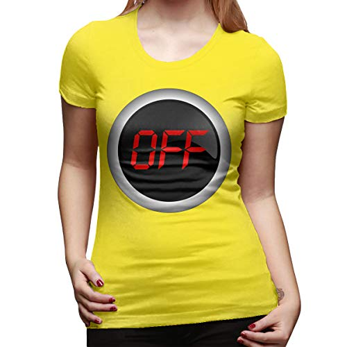 Ida Piers Off Women's Short Sleeve T Shirt Color Yellow Size 33]()
