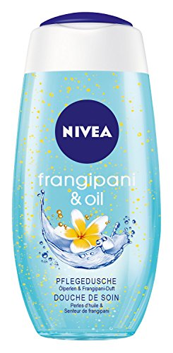 Nivea Frangipani & Oil Pflegedusche, Duschgel, 4er Pack (4 x 250 ml)