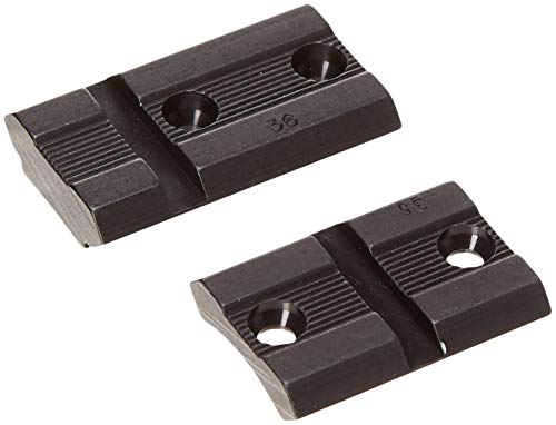 Weaver Top Mount Matte Black Base Pair - Remington 700