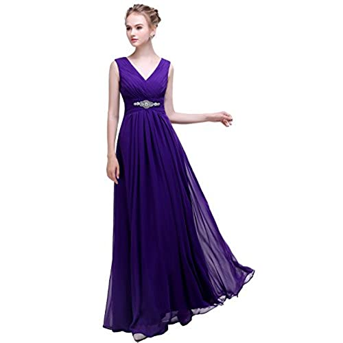 Dark Purple Bridesmaid Dresses: Amazon.com