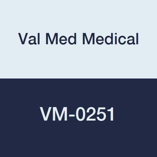 Val Med Medical VM-0251 Comfort Plus Foam Heel Protector, Blue (Pack of 12) by Val Med Medical