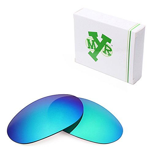MRY POLARIZED Replacement Lenses for Costa Del Mar Fathom Sunglasses - Options (Standard, Emerald Green)