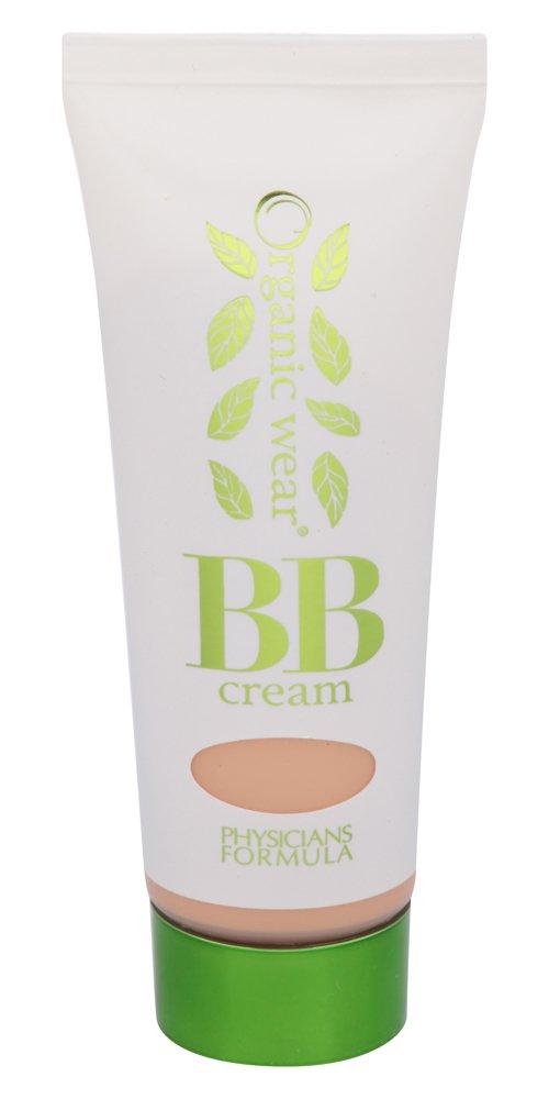 Physicians Formula Organic Wear 100% Natural Origin BB Beauty Balm Cream, Light, 1.2 Fluid Ounce