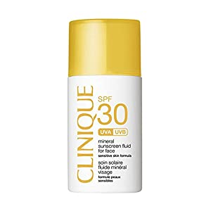 Clinique Mineral Sunscreen Fluid for Face SPF 50 Sensitive Skin, 1 Ounce