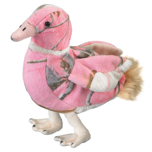 Pink Duck - Wildlife Artists Inc. Duck Team Realtree Pink Camo Duck