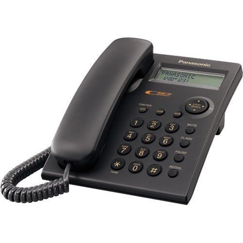 Panasonic KX-TSC11 Integrated Corded Telephone, Black Panasonic Canada KXTSC11