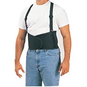 Back Support Belt with Suspender- Size Double Extra Large