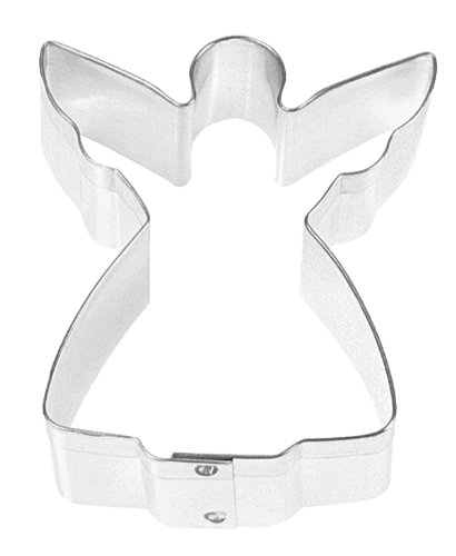 Fox Run 3315 Angel Cookie Cutter, 3-Inch, Stainless Steel