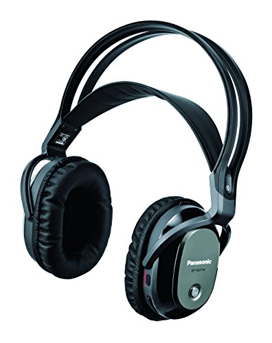 - Panasonic digital wireless Surround Headphone System Black RP-WF7H-K Expanded