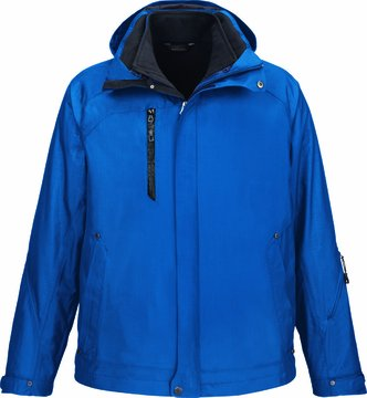 NE MEN CAPRICE 3 IN 1 JKT (NAUTICL BLUE 413) (2XL) by Ash City - North End