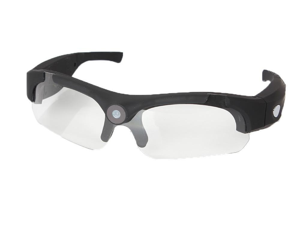 LLZJ Glasses Spy Camera High Definition 1080P Sports Eyewear Mini Hidden Video Ski Recorder Camcorder Sunglasses Bicycle Motorcycle Travel Digital Fashion , D