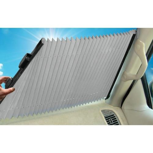 Dash Designs The Shade Retractable Windshield Sunshade, 23